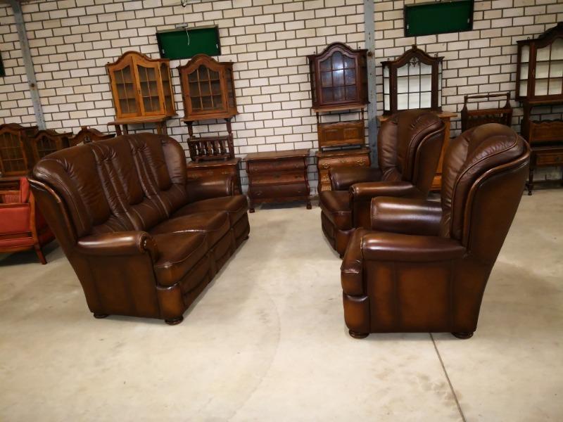 Nice leather sofa set 3-1-1 - Sofasets & Chairs - Used Furniture ...
